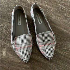 Steve Madden Feather Loafers - Plaid